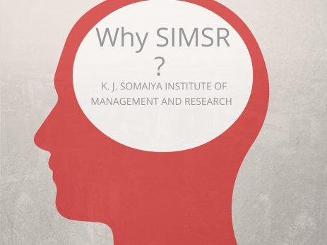 Reasons for joining K.J.Somaiya Institute of Management Studies & Research