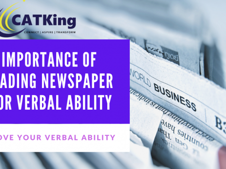 catking cover page imprtance of reading newspaper for verbal ability