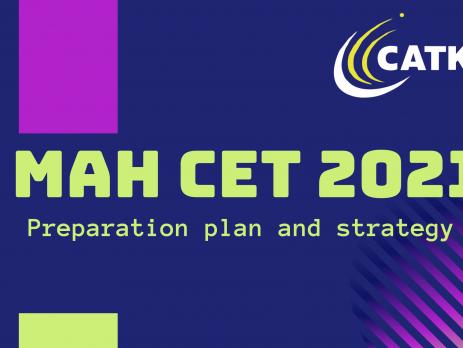 MAH CET 2021 Plan CATKing