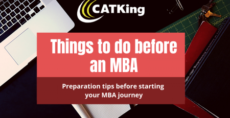 catking things to do before an mba