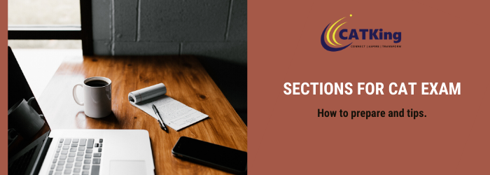 sections for cat exam