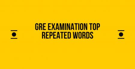gre examination vocabulary