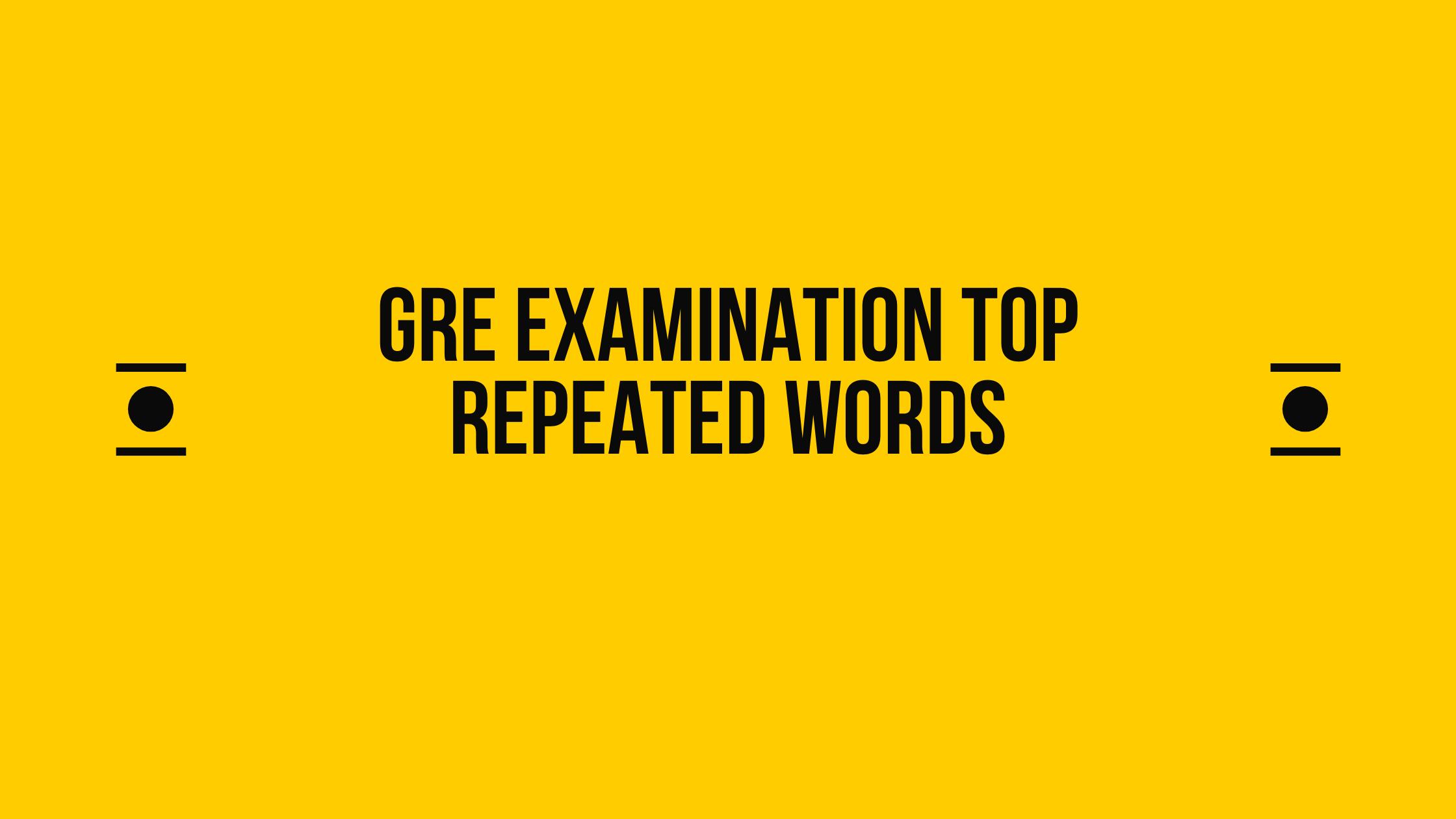GRE Vocab Words