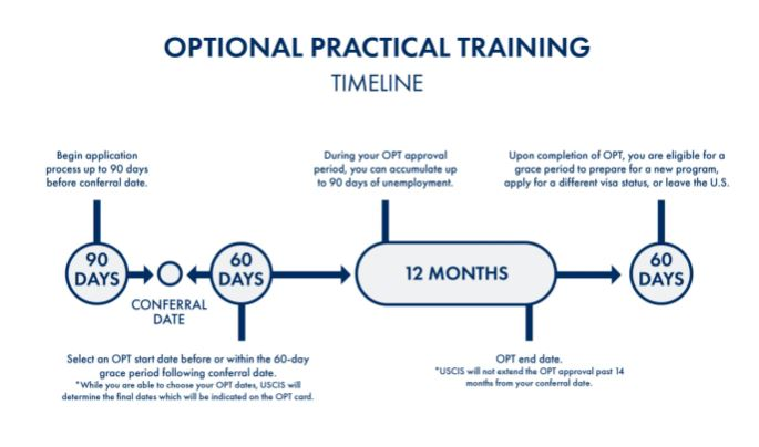 Study abroad- What is Optional Practical Training (OPT)